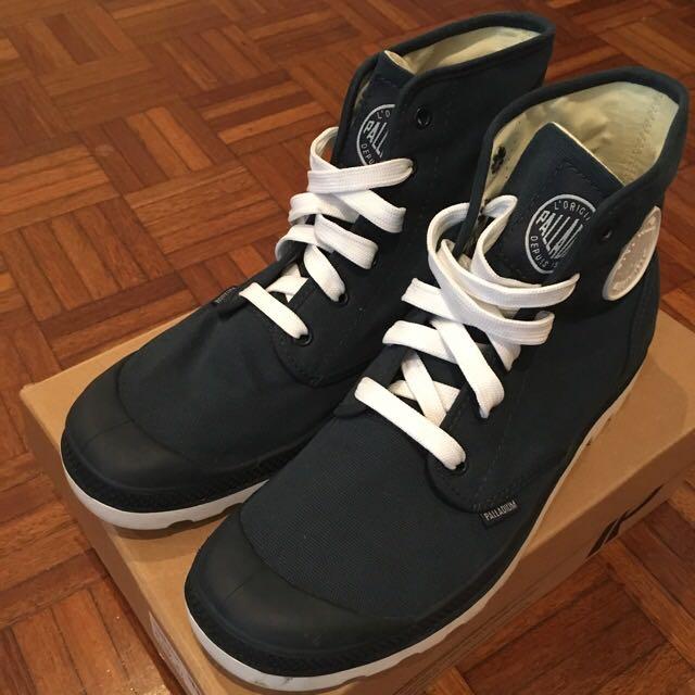 Palladium Boots Navy/White