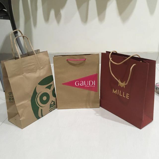 Paper Bag (Dijual Terpisah)
