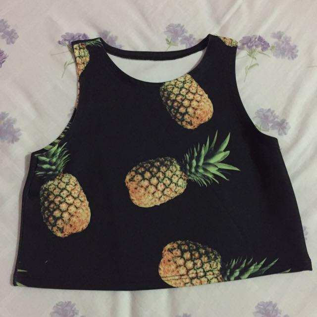 pineapple tanktop