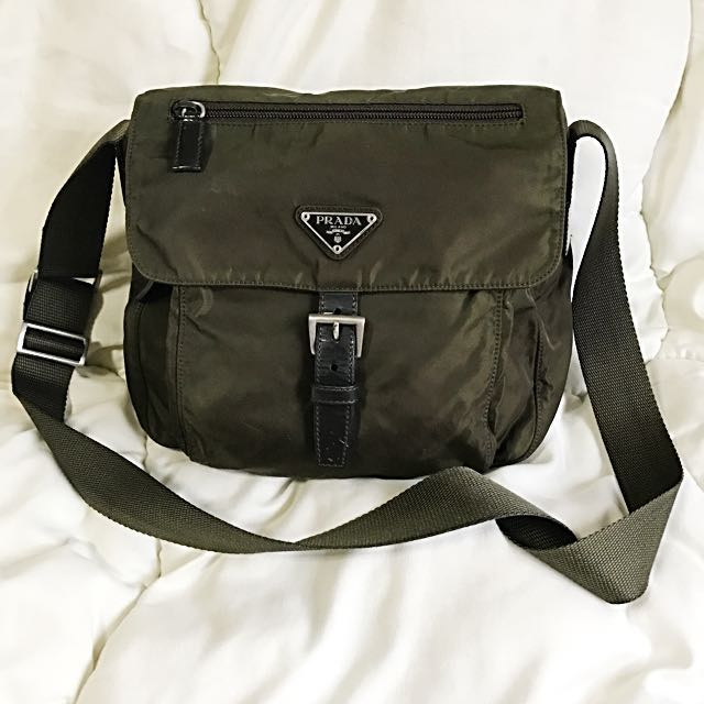 2bbb2c237ba9 Prada Vela Sport Nylon Messenger   Sling   Cross Body Bag