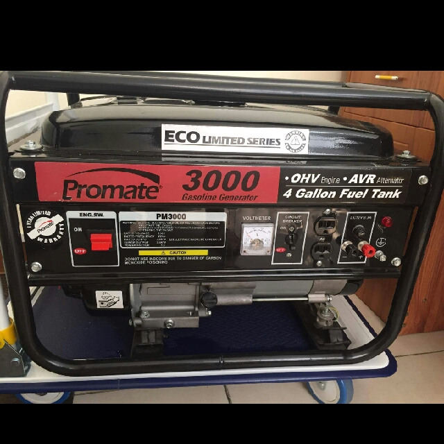 PROMATE PM3000 PORTABLE GENERATOR