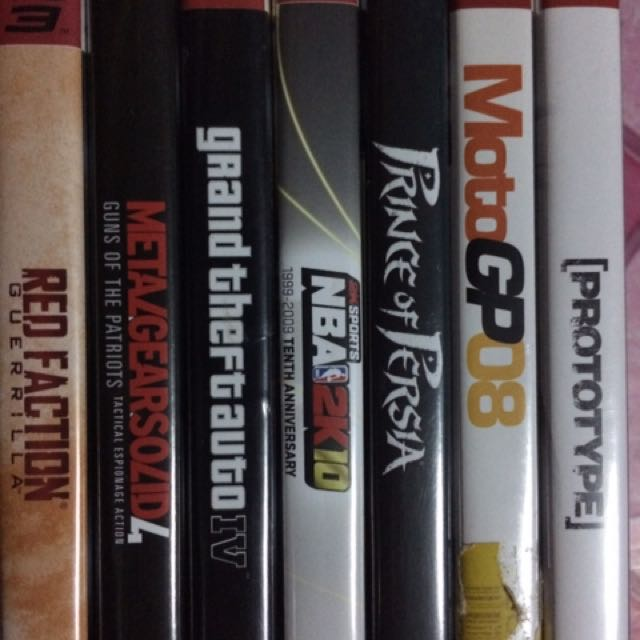 PS3 Games (400each)