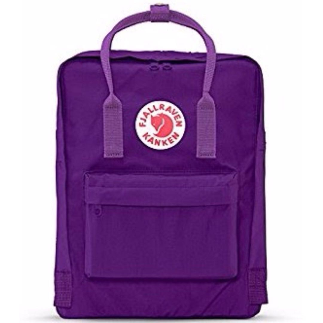 Purple Kanken Backpack