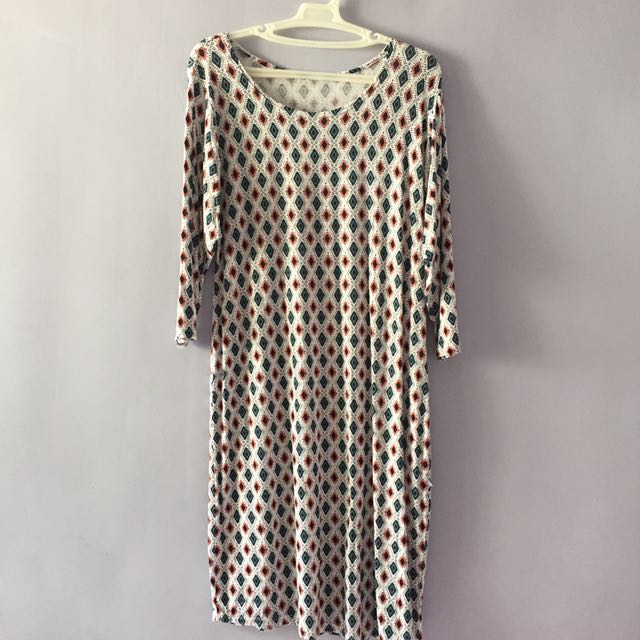 REPRICED Patterned Dress