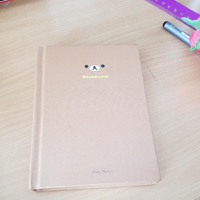 Rilakkuma study planner/diary