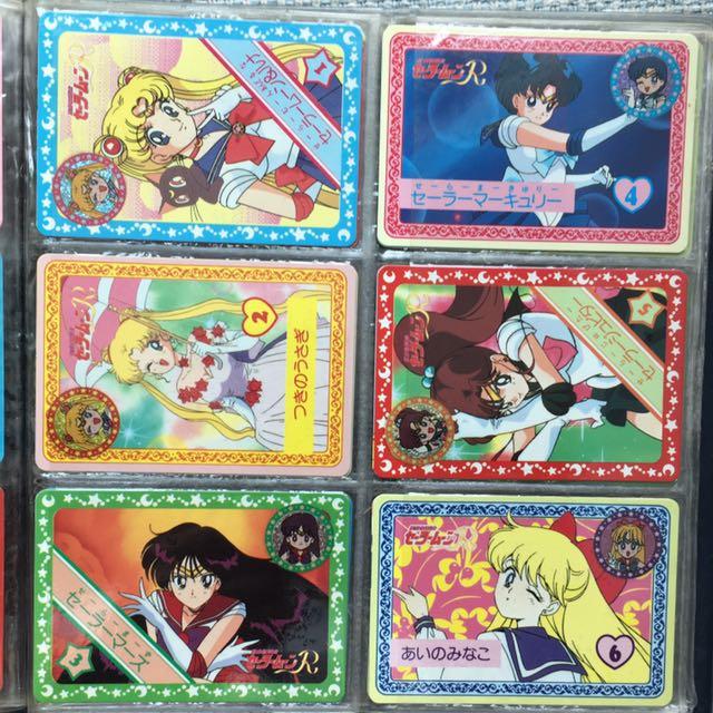 Sailormoon Sailor Moon 美少女戰士 印章咭Set 全24張