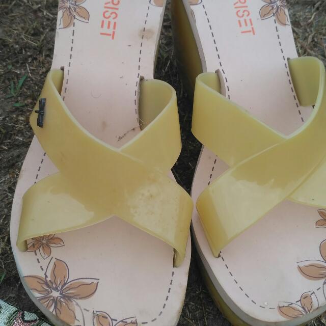 Sandal Wedges Triset