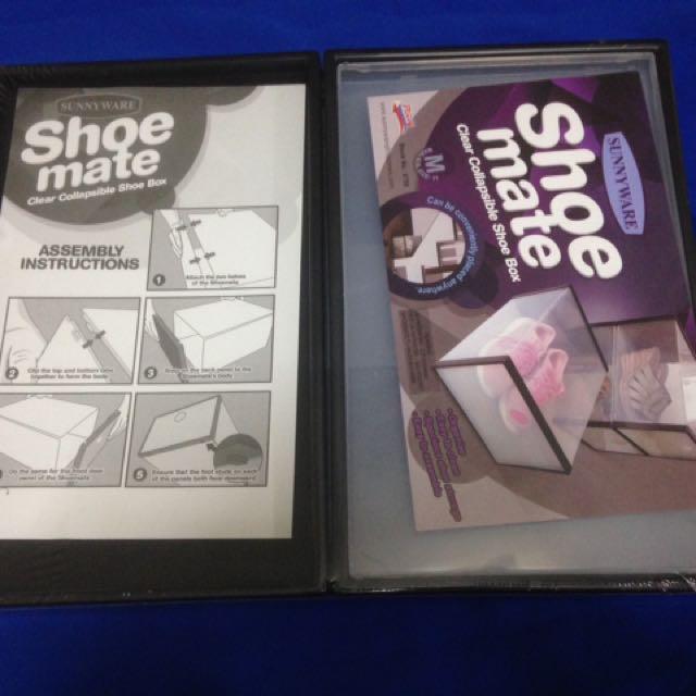 Shoe Mate Foldable Shoebox
