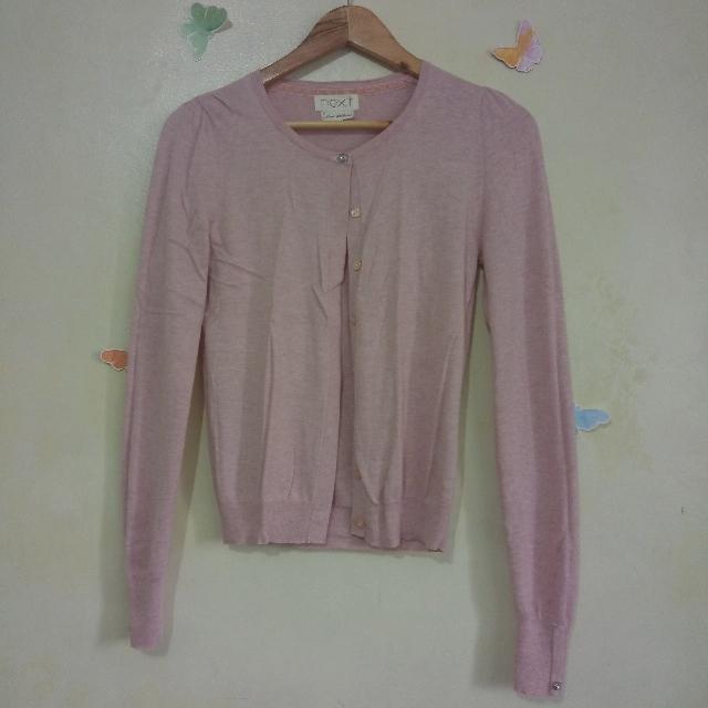 ‼️SALE‼️Soft Pink Knitted Cardigan Sweater