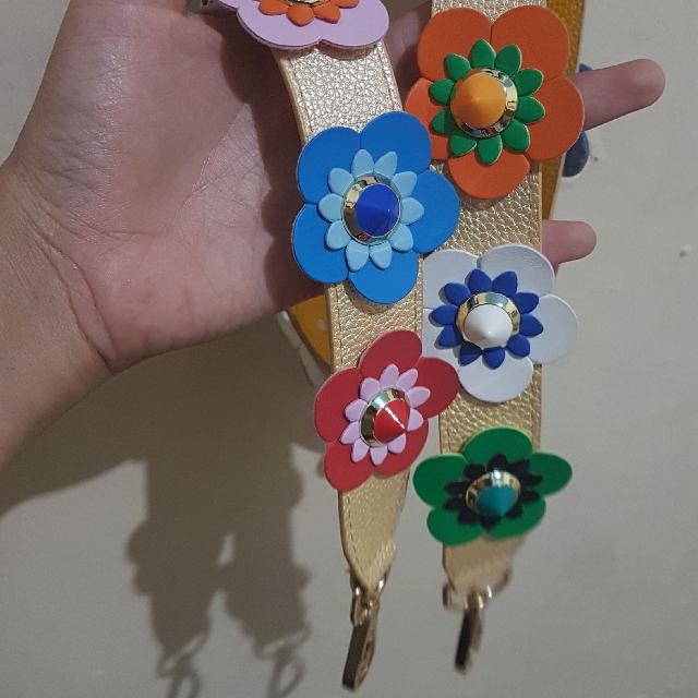 Strap Tali Fendy Flower harga Nett