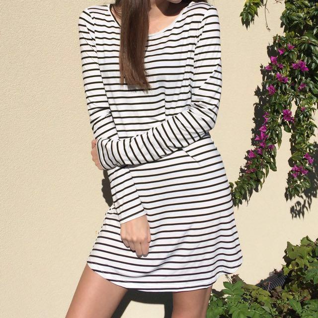 Stripe Dress 🍁