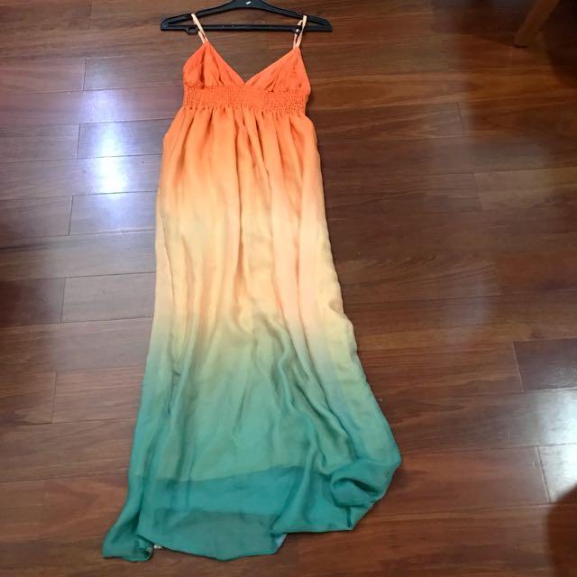 Summer Ombre Maxi Dress