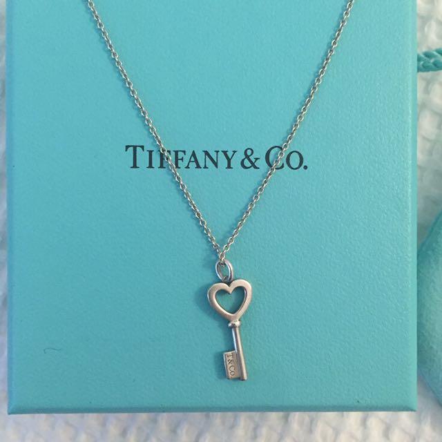 Tiffany co heart key pendant silver womens fashion jewelry on tiffany co heart key pendant silver womens fashion jewelry on carousell mozeypictures Choice Image