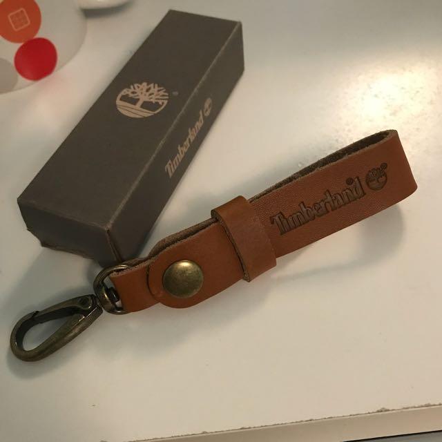 Timberland 皮革 鑰匙圈