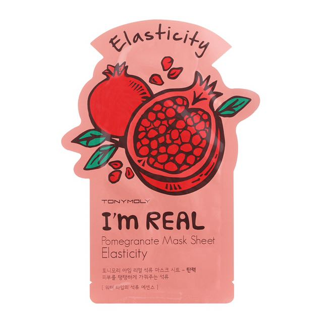 Tony Moly I'm Real Sheet Maks Pomegranate