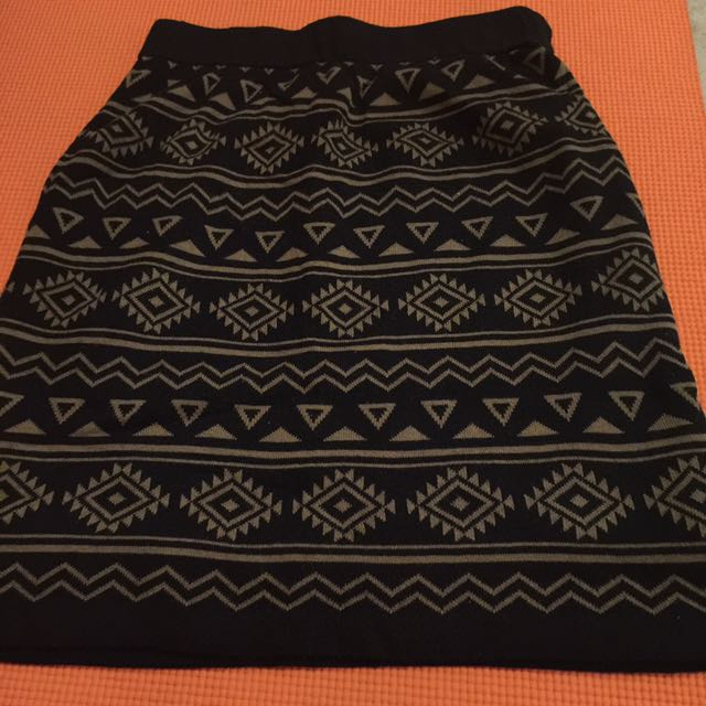 Tribal/geometri Skirt