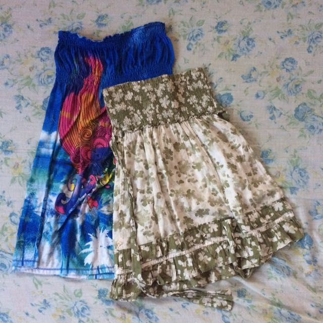 Tube Dress/Top Bundle