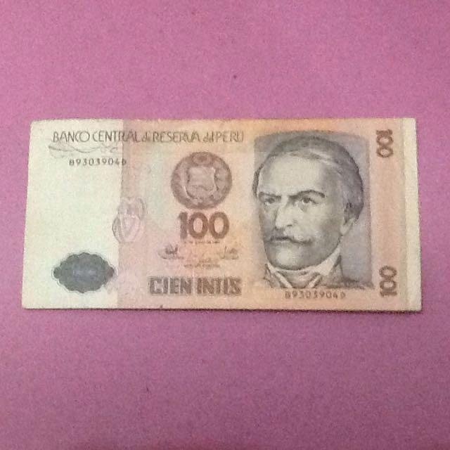 Uang Lama Peru 1987