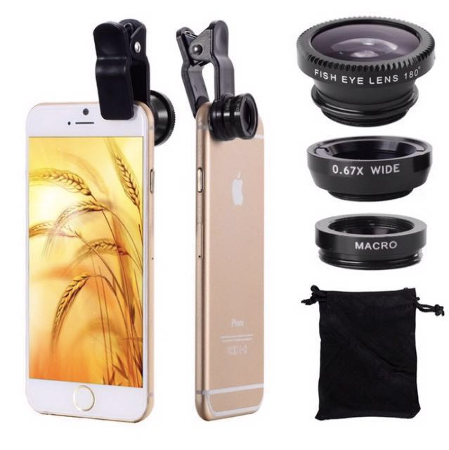 Universal 3-IN-ONE Photo Lens