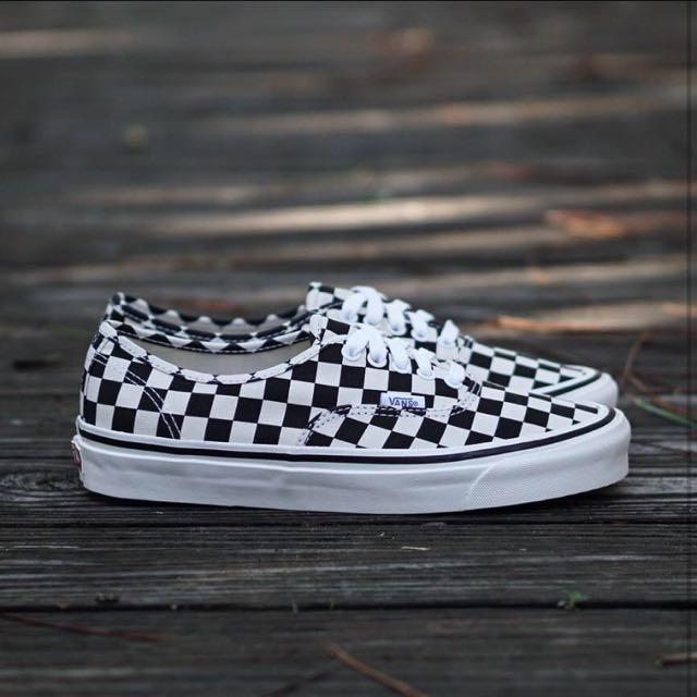 Vans Checkerboard Authentic Anaheim