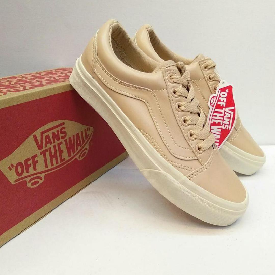 VANS Veggie Tan Leather Old Skool DX 483ee9c45