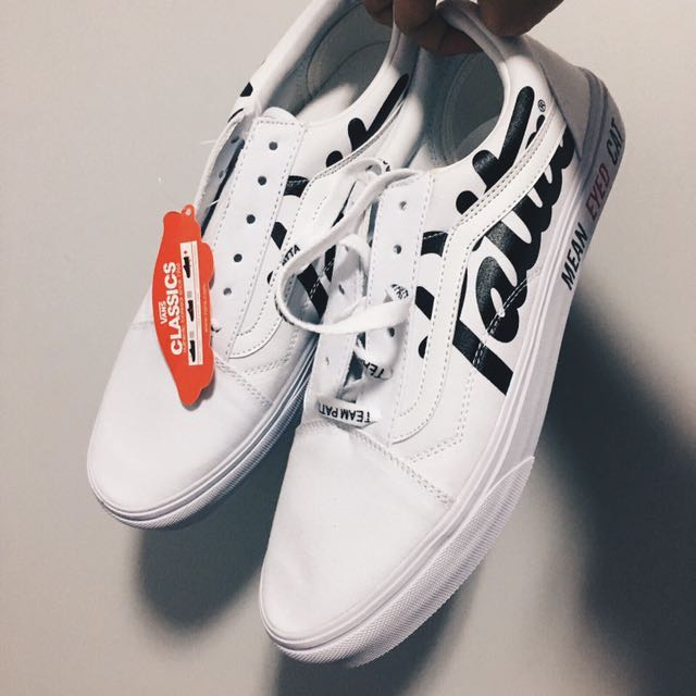 1cc882be0175 White Vans x Patta Mean Eyed Cat