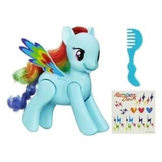 💣NEW My Little Pony Flip and Whirl Rainbow Dash Figure By HASBRO
