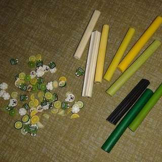 *Take All* Assorted Fimo Canes