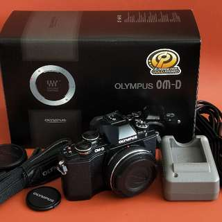 Olympus OMD EM10 compact micro four thirds (4/3) hybrid digital mirrorless interchangeable lens camera (mark 1)