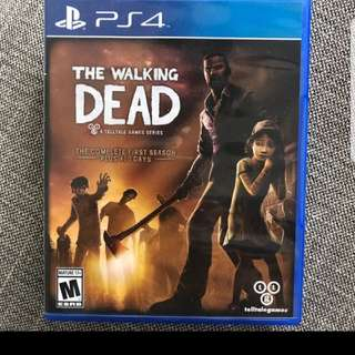 The Walking Dead, The Complete First Season PS4