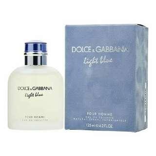 Dolce And Gabbana Light Blue For Men👨