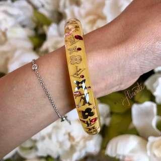 Louis Vuitton Inclusion Bracelet LV yellow