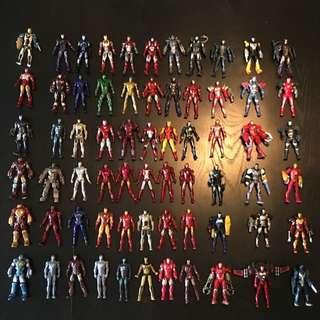 Hasbro Iron Man Fingurines 3.75inch Set