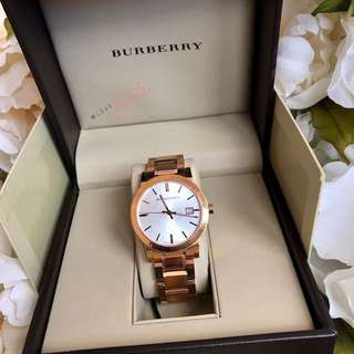 Burberry Gold Watch 28mm