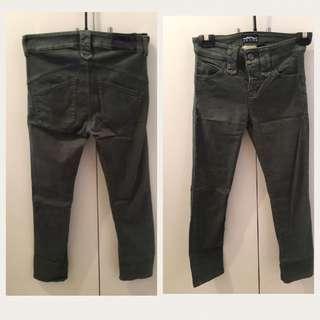 Emporio Armani jeans Size 25 dark green
