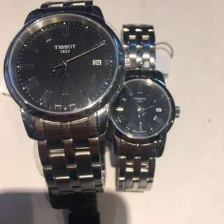 "LAY-AWAY ""couple"" Tissot Watches"