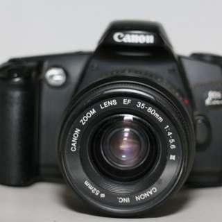Canon Eos Kiss Film camera 35-80mm mark 3 lens