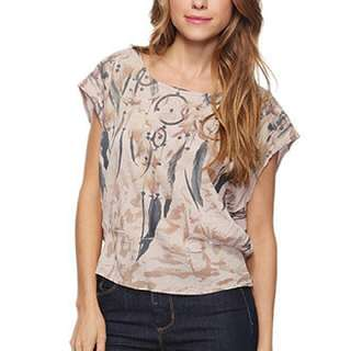 Paneled Dream Catcher Top