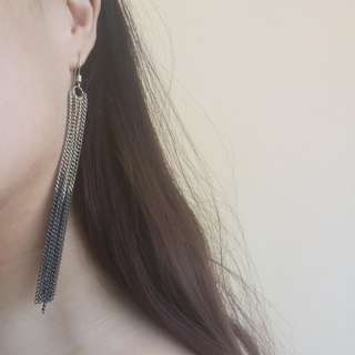 Ombre Chain Earrings