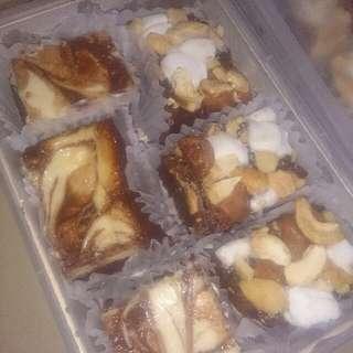 Rocky Road Brownies & Cheesecake Brownies