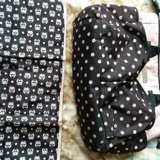 Diapers Bag And Changing Mat