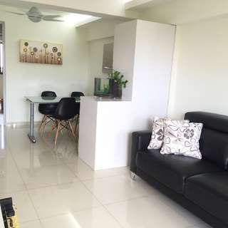 For RENT 3-Room HDB Near Aljunied MRT @ Sims Place Fully FURNISHED