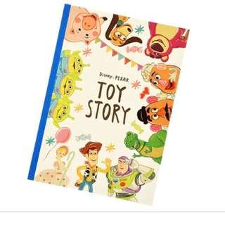 🇯🇵日本迪士尼代購-玩具總動員B5筆記本