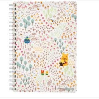 🇯🇵日本迪士尼代購-小熊維尼精裝筆記本