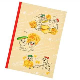 🇯🇵日本迪士尼代購-奇奇蒂蒂B5筆記本