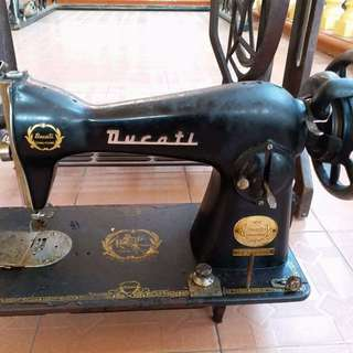 DUCATI Antique Sewing Machine RARE nike adidas levis singer