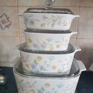 corning ware full set
