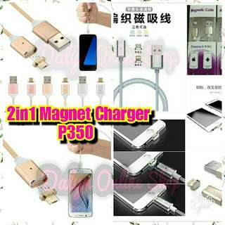 2in1 magnet charger