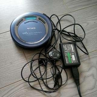 SONY D-EJ625 CD 播放機(原裝套裝)