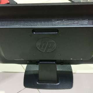 "HP 20"" Led Monitor, VGA & DVI Port"